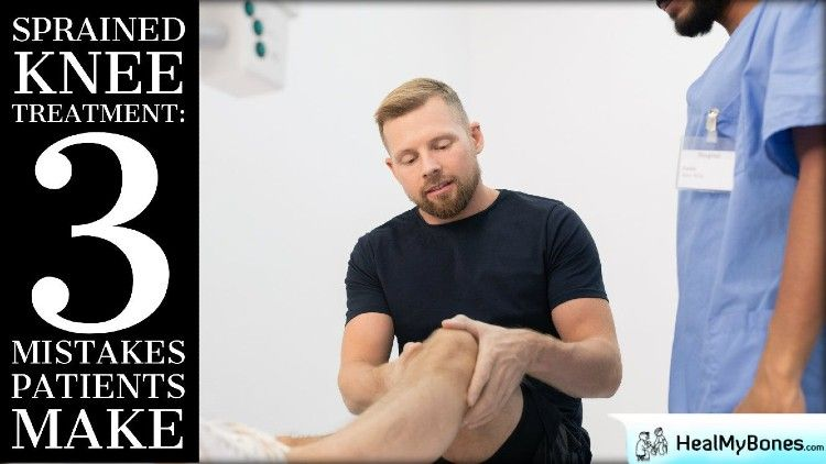 Sprained Knee Treatment: 3 Mistakes Patients Make