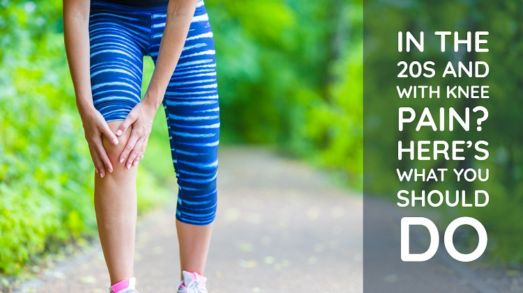 In The 20s And With Knee Pain? Here's What You Should Do